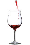 dolewania czerwone wino Obraz Royalty Free