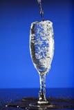 dolewania szklany wino Obraz Stock