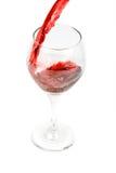 dolewania wino Obrazy Royalty Free
