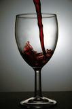 dolewania wino Obrazy Stock