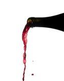 dolewania wino zdjęcia royalty free