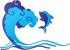 Dolfijn vector illustratie