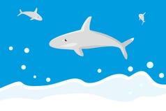 Dolfijn in overzees Stock Fotografie