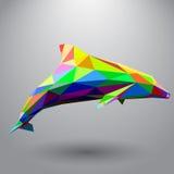 Dolfijn van driehoeken Royalty-vrije Stock Foto's