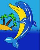 Dolfijneiland Royalty-vrije Stock Afbeeldingen