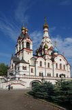 DOLGOPRUDNY, RUSSIA - September 27, 2015: Church of the Kazan Icon of the Mother of God Stock Photos
