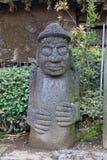 Dolharubang, symbol Jeju wyspa zdjęcia royalty free