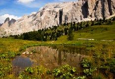 Dolimites en el alto el Adigio Italia del trentino Imágenes de archivo libres de regalías