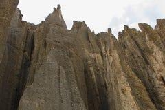 Dolina śmierć Valle De Las Animas w losie angeles Paz, Boliwia Rockowe formacje fotografia stock