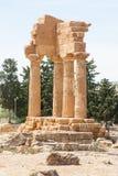 Dolina świątynie Fotografia Stock