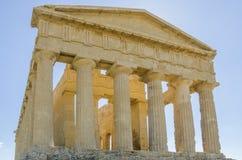 Dolina świątynie, Agrigento, Sicily Obrazy Stock