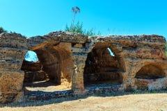 Dolina świątynie, Agrigento, Sicily, Włochy Obraz Stock