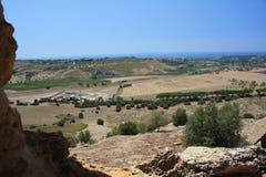 Dolina świątynie, Agrigento, Sicily, Włochy Zdjęcie Stock