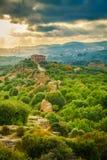 Dolina świątynie blisko Agrigento Zdjęcia Royalty Free