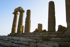 Dolina świątynie, Sicily Zdjęcie Royalty Free