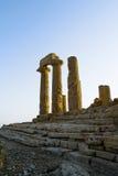 Dolina świątynie, Sicily Obrazy Royalty Free