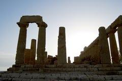 Dolina świątynie, Sicily Zdjęcie Stock