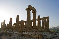 Dolina świątynie, Sicily Obrazy Stock