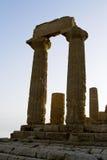 Dolina świątynie, Sicily Fotografia Stock