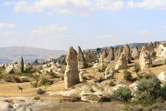Dolina, Cappadocia, Turcja Obraz Stock