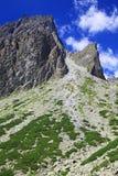 Dolina de studena de Mala - vallée dans haut Tatras, Slovaquie Images libres de droits