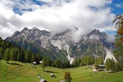 Dolina dolomity w Włochy Fotografia Royalty Free