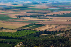 Dolina Izrael Fotografia Royalty Free