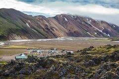 Dolina jest wielkim turysty obozem Fotografia Royalty Free