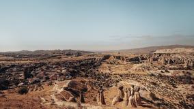 Dolina, Kołysa i kamienie Cappadocia, Turcja Obrazy Royalty Free