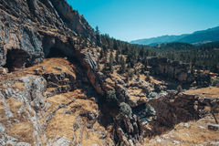 Dolina, Kołysa i kamienie Cappadocia, Turcja Zdjęcie Royalty Free