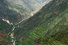 Dolina krajobraz Zdjęcie Stock
