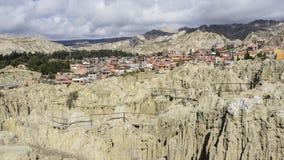 Dolina księżyc - los angeles Paz, Boliwia Fotografia Stock