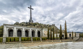 Dolina Madryt Spadać, Hiszpania (Valle De Los Caidos) Fotografia Royalty Free