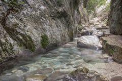 Dolina Rio Freddo, Umbria Fotografia Royalty Free