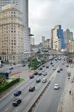 Dolina robi Anhangabau w Sao Paulo, Brazylia obraz stock