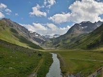 Dolina spokój Zdjęcie Royalty Free
