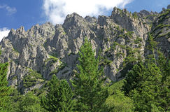 Dolina van Malastudena - vallei in Hoge Tatras, Slowakije Royalty-vrije Stock Afbeeldingen