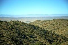 dolina w Africa Morocco atlant góry sucha ziemia Obrazy Royalty Free