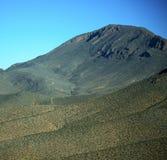 Dolina w Africa Morocco atlant góry sucha ziemia odizolowywa Zdjęcie Stock