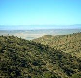 Dolina w Africa Morocco atlant góry sucha ziemia odizolowywa Fotografia Stock