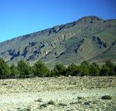 Dolina w Africa Morocco atlant góry sucha ziemia odizolowywa Obraz Royalty Free