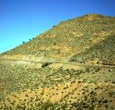Dolina w Africa Morocco atlant góry sucha ziemia odizolowywa Zdjęcia Royalty Free