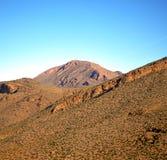 Dolina w Africa Morocco atlant góry sucha ziemia odizolowywa Fotografia Royalty Free