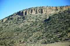 dolina w Africa Morocco atlant suchy Obraz Stock