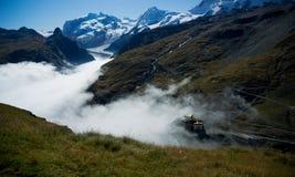 Dolina w Alps Zdjęcia Stock