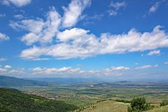 Dolina w Bułgaria Fotografia Stock