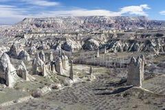 Dolina w Capadocia indyk Obraz Stock