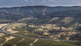 Dolina w Extremadura Obraz Stock