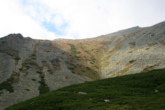 Dolina w górach Obrazy Royalty Free