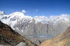 Dolina w Tajikistan Zdjęcia Royalty Free
